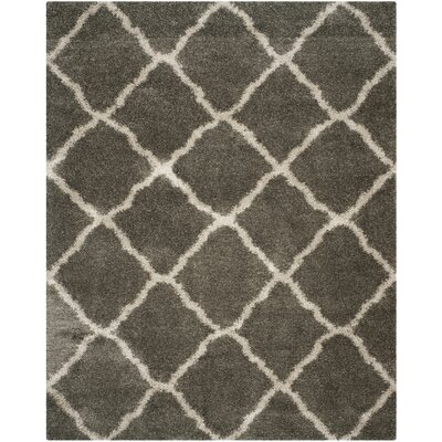 Charmain Grey & Taupe Area Rug Rug Size: Rectangle 8 x 10