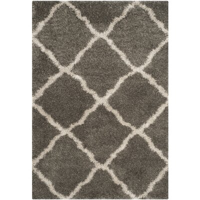 Charmain Grey & Taupe Area Rug Rug Size: Rectangle 51 x 76