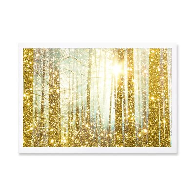Magical Forest Framed Graphic Art Print