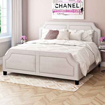 Thirsk Upholstered Platform Bed Size: King