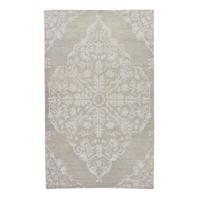 Eaton Knotted Taupe Area Rug Rug Size: 2 x 3