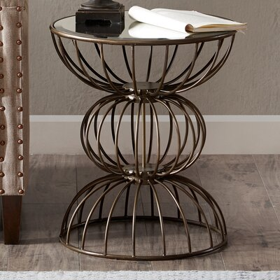 Brennan Wire Ball End Table