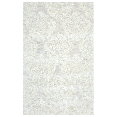 Doss Hand-Tufted Beige Area Rug Rug Size: Rectangle 5 x 8