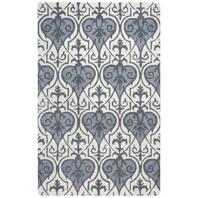 Doobay Hand-Tufted Blue Area Rug Rug Size: Rectangle 5 x 8