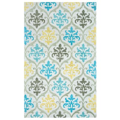 Ilfracombe Hand-Tufted Multi Area Rug Rug Size: Rectangle 8 x 10