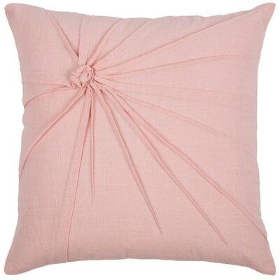 Javon 100% Cotton Throw Pillow Color: Pink