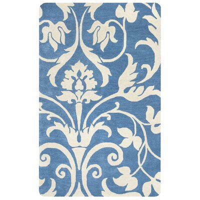 Southwell Hand-Tufted Blue Area Rug Rug Size: Rectangle 5 x 8