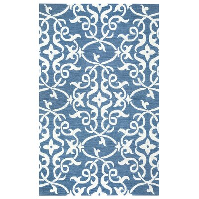 Hexham Hand-Tufted Blue Area Rug Rug Size: 9 x 12