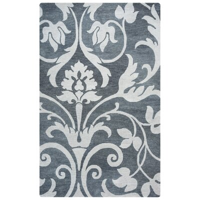 Southwell Hand-Tufted Gray Area Rug Rug Size: Rectangle 5 x 8