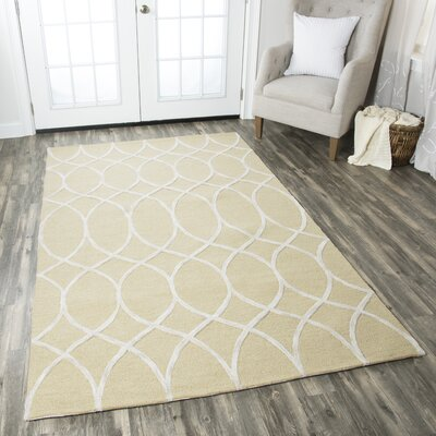 Uxbridge Hand-Tufted Beige Area Rug