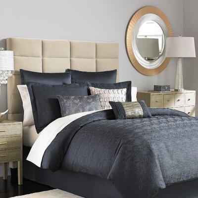 Mahala 8 Piece Comforter Set Size: King