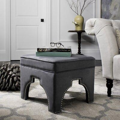 Claribel Ottoman Upholstery: Grey