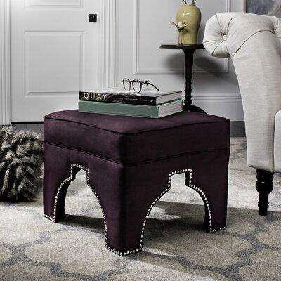 Claribel Ottoman Upholstery: Plum