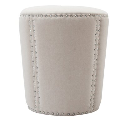 Ofelia Accent Ottoman Upholstery: Sky Neutral