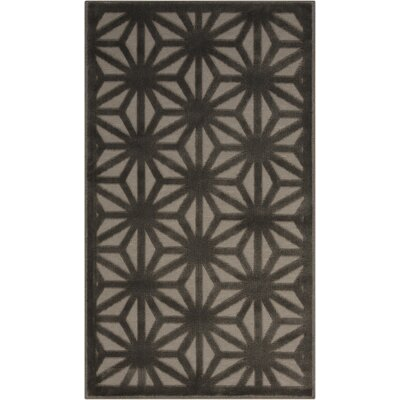 Stanhope Beige/Gray Area Rug Rug Size: 76 x 96