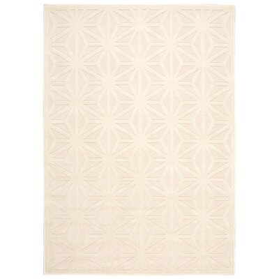 Stanhope Ivory Area Rug Rug Size: Rectangle 36 x 56