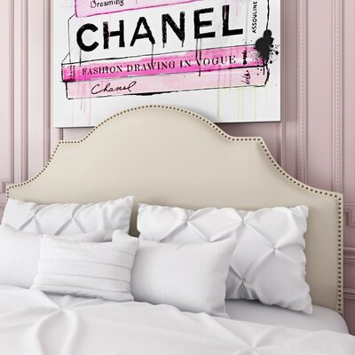 Charlayne Upholstered Panel Headboard Size: Queen