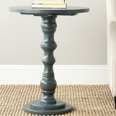 Patton End Table Color: Steel Teal