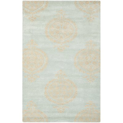 Rhona Blue & Beige Area Rug Rug Size: Rectangle 83 x 11