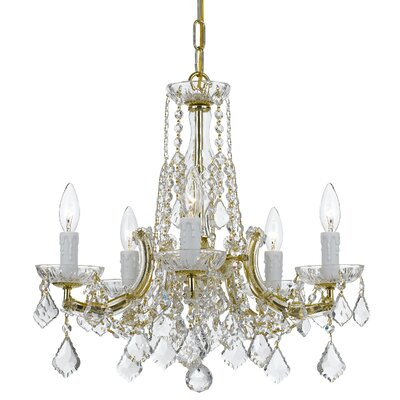 Careen 5-Light Crystal Chandelier
