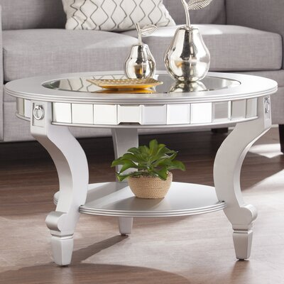 Jocelyn Mirrored Coffee Table