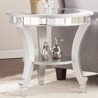 Mali Mirrored End Table
