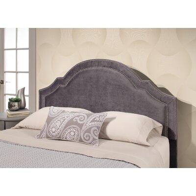 Maxime Velvet Upholstered Panel Headboard Upholstery: Gray