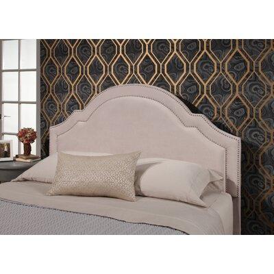 Konnor Velvet Upholstered Panel Headboard Upholstery: Ivory