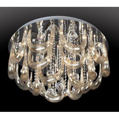 Melvina 15-Light Flush Mount