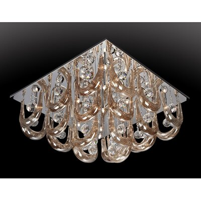 Melvina 16-Light Flush Mount
