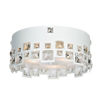Mirabelle 3-Light Flush Mount