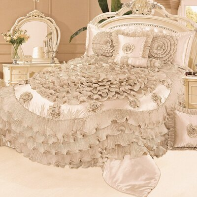 Narelle 6 Piece Comforter Set Size: King