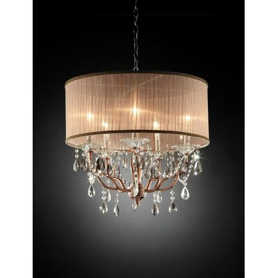 Nyle 5-Light Crystal Pendant