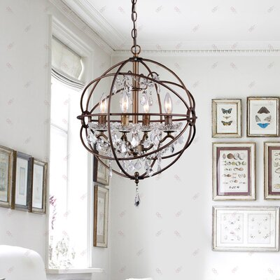 Auriville 4-Light Mini Chandelier