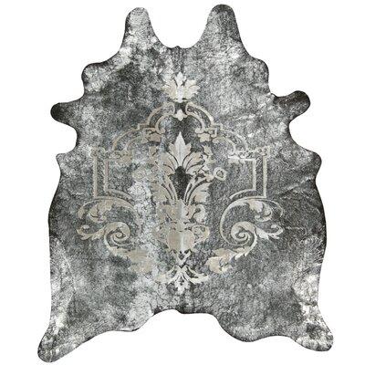 Bretta Black/Silver Area Rug