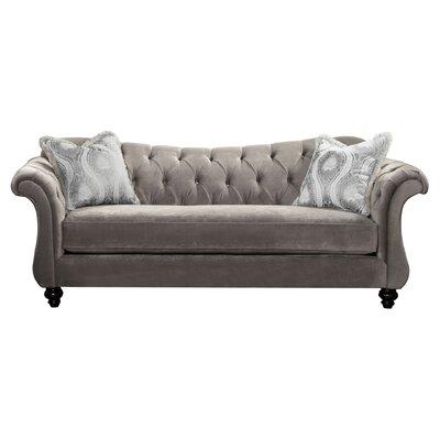 Indira Premium Sofa Upholstery: Gray