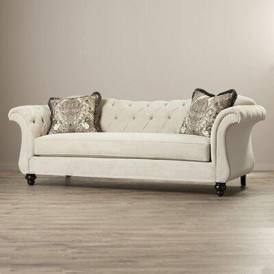 Indira Premium Sofa Upholstery: Taupe