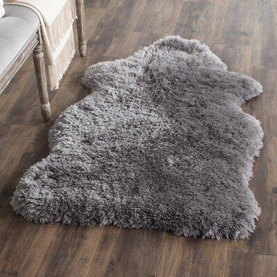Priya Hand-Tufted Gray Area Rug