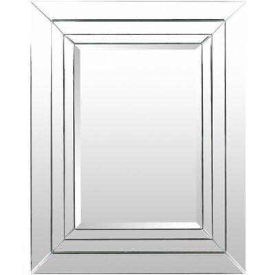 Rectangle Silver Accent Wall Mirror