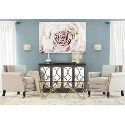 Frederick Hand-Tufted Ivory Area Rug Rug Size: 8'6