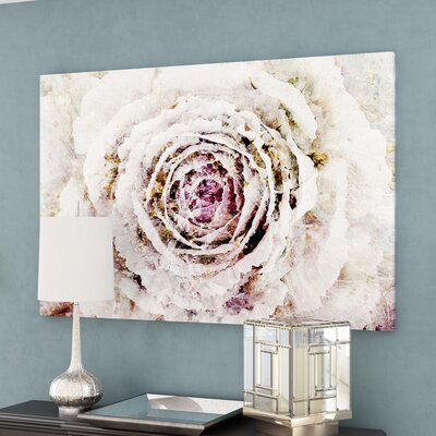 Winter New York Flower Canvas Print, Oliver Gal