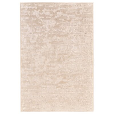 Ramona Cream Area Rug Rug Size: Rectangle 76 x 106
