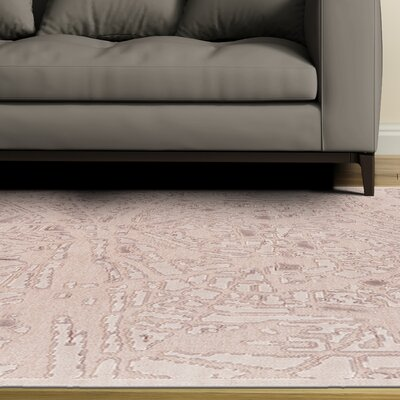Ramona Cream Area Rug Rug Size: Rectangle 53 x 76