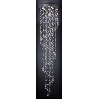Rayna 9-Light Crystal Chandelier