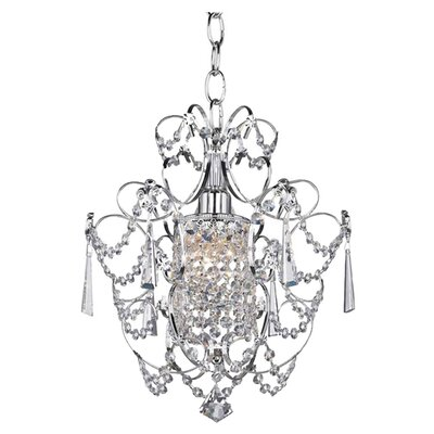 Gates 1-Light Crystal Chandelier
