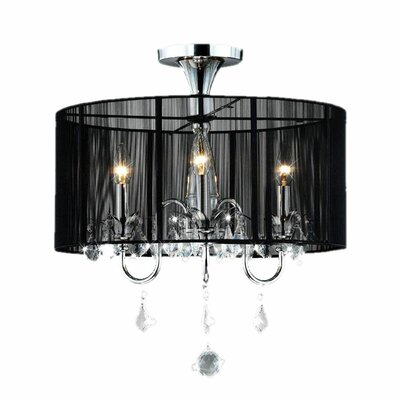 Griffith 3-Light Drum Chandelier