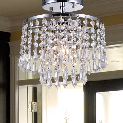 Franklyn 1-Light Semi Flush Mount