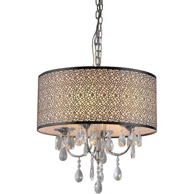 Horsham 4-Light Drum Chandelier