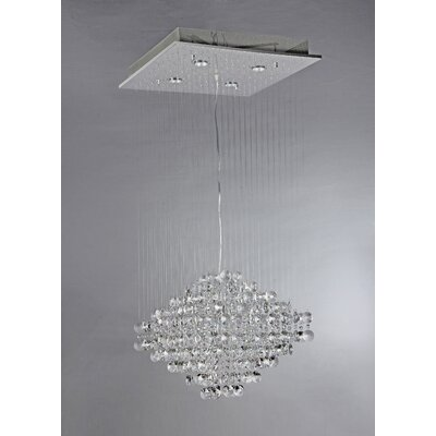 Edmundo 5-Light Crystal Chandelier