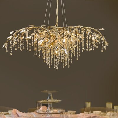 Destrie 12-Light Crystal Chandelier